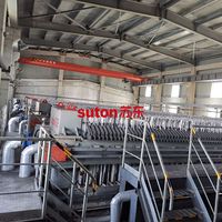 Non-ferrous Metallurgy Steel Rolling Wastewater Filter Press